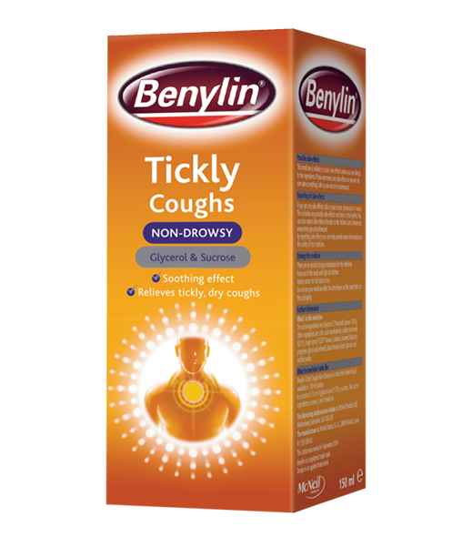 BENYLIN® Tickly Coughs Non-Drowsy Syrup