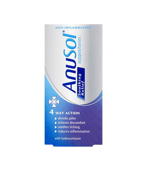 ANUSOL® Soothing Relief Suppositories 12s