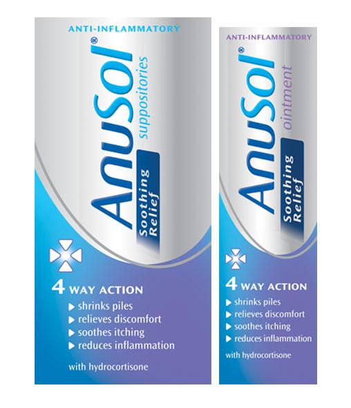 ANUSOL® Cream & Suppositories