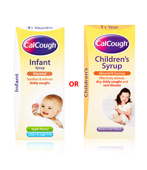 CalCough® Infant Syrup or CalCough® Children's Syrup