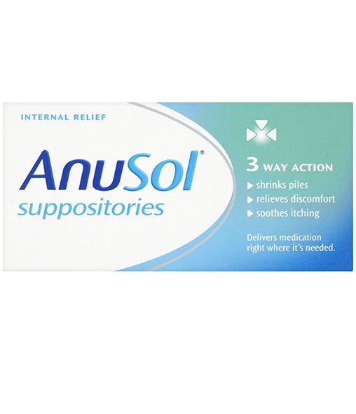 ANUSOL® Suppositories 12s