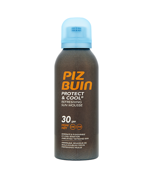 PIZ BUIN® Protect & Cool Refreshing Sun Mousse SPF30