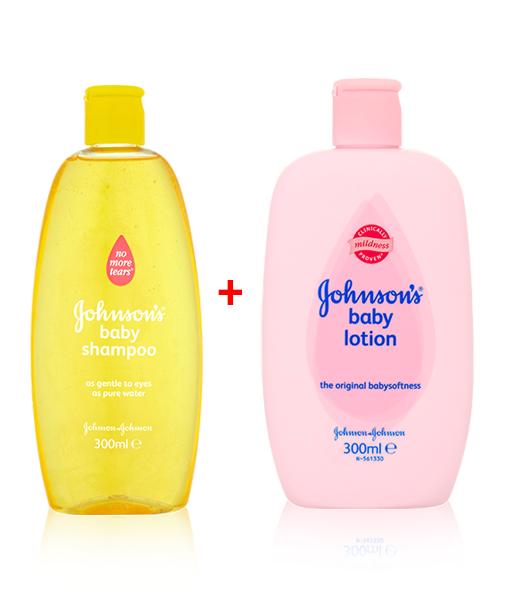 JOHNSON'S® Baby Shampoo & JOHNSON'S® Baby Lotion