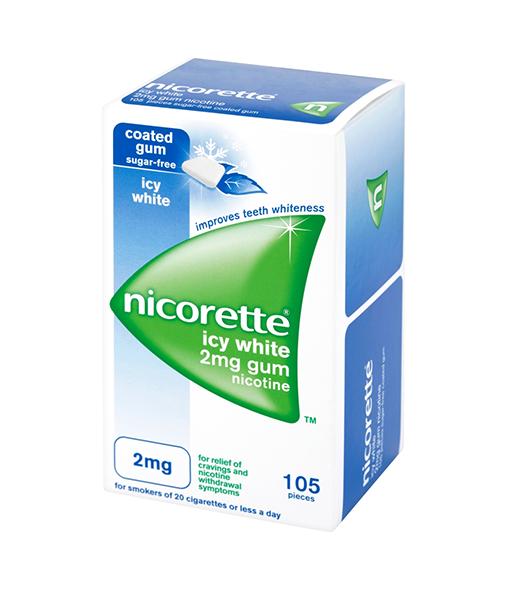 NICORETTE® Icy White 2mg gum (105s)