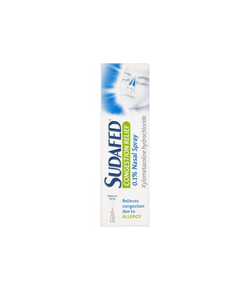 Sudafed® Congestion Relief Spray