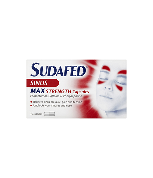 Sudafed® Sinus Pain Relief