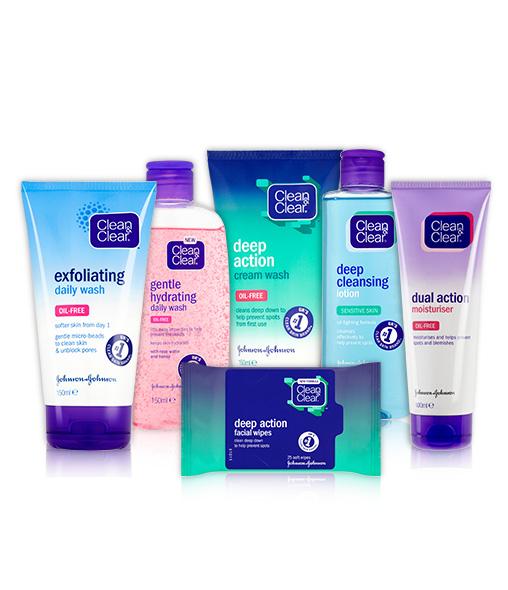CLEAN & CLEAR® Daily Essentials Range