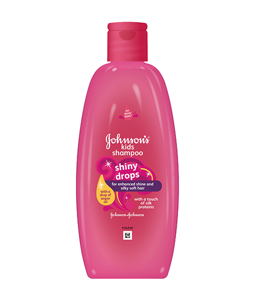 JOHNSON'S® Shiny Drops Shampoo