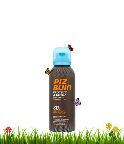 Protect & Cool Refreshing Sun Mousse SPF30
