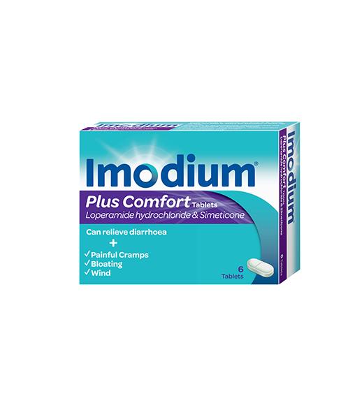 Imodium® Plus Comfort 6s