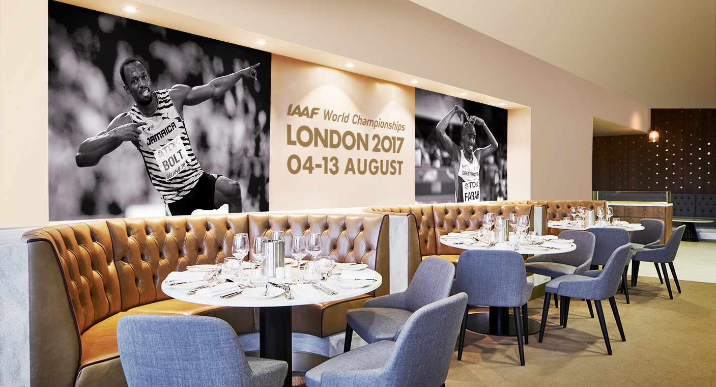 IAAF World Championships Exclusive Hospitality Diamond Suite