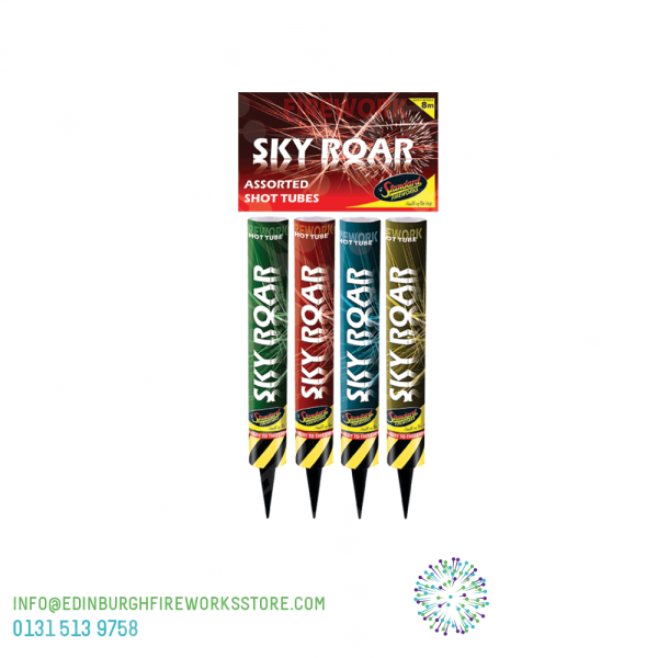 Sky-Roar-Shot-Tubes-by-Standard-Fireworks-from-Edinburgh-Fireworks-Store