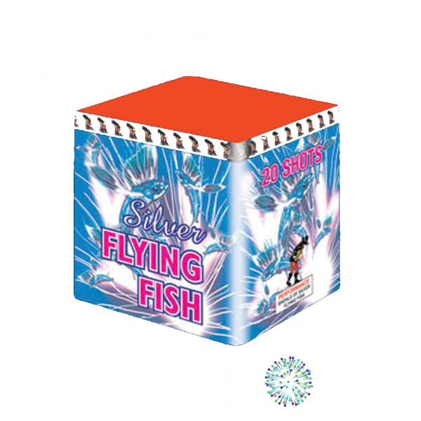 Silver-Flying-Fish-by-Fireworks-International-from-Edinburgh-Fireworks-Store