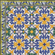 Tile Compositions Collection - Portuguese traditional decorative tiles azulejos