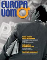Copertina della rivista Europa Uomo numero 1