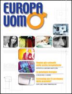 Copertina della rivista Europa Uomo numero 2