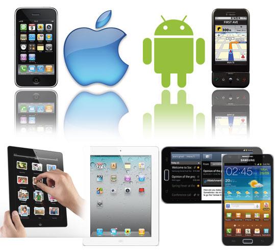 Sviluppo su iPhone, iPad, Cellulari e Tablet Android