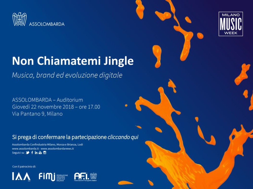 Non chiamatemi jingle