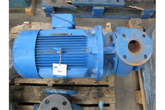 INGERSOLL DRESSER 65WJE200 CENTRIFUGAL PUMP WITH 22KW MOTOR PLEASE