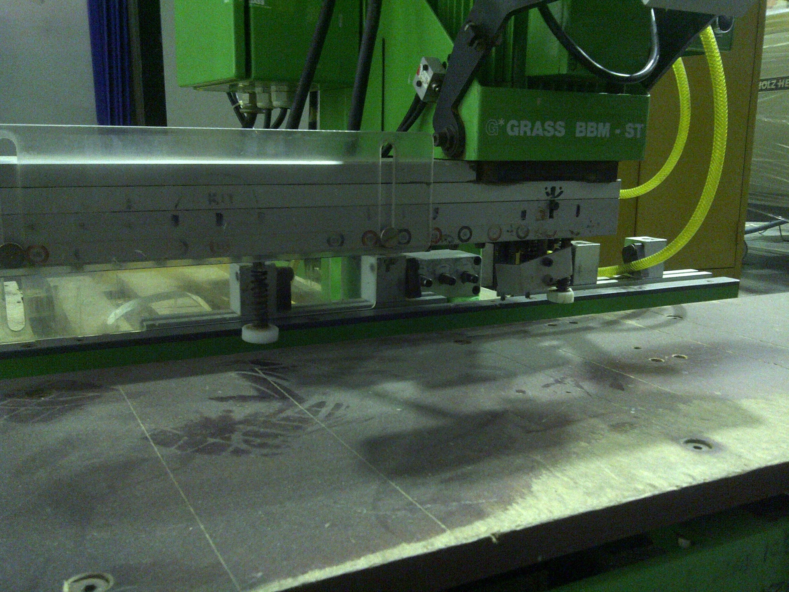 Grass Boring Machine - Model BBM -ST - extension fences left and right ...