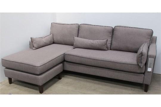 arden reversible corner sofa light grey 100 polyester solid wood rh bidspotter co uk reversible corner sofa beds aberdeen reversible corner sofa deals