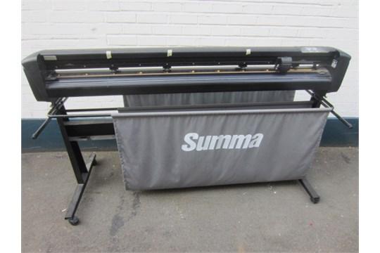 Summa D160 Summacut vinyl cutter/plotter, Model D160R, S/N