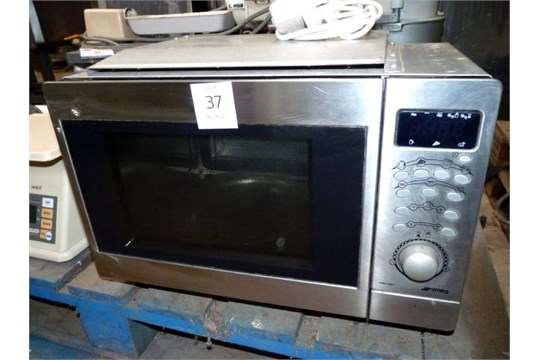 Smeg Fme 20ex Built In Microwave Oven