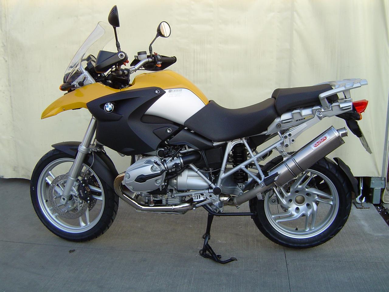 BMW / R 1200 GS 2004/09 - ADV 2005/2010 / TITANIUM OVALE / OVAL / BMW 12 TO