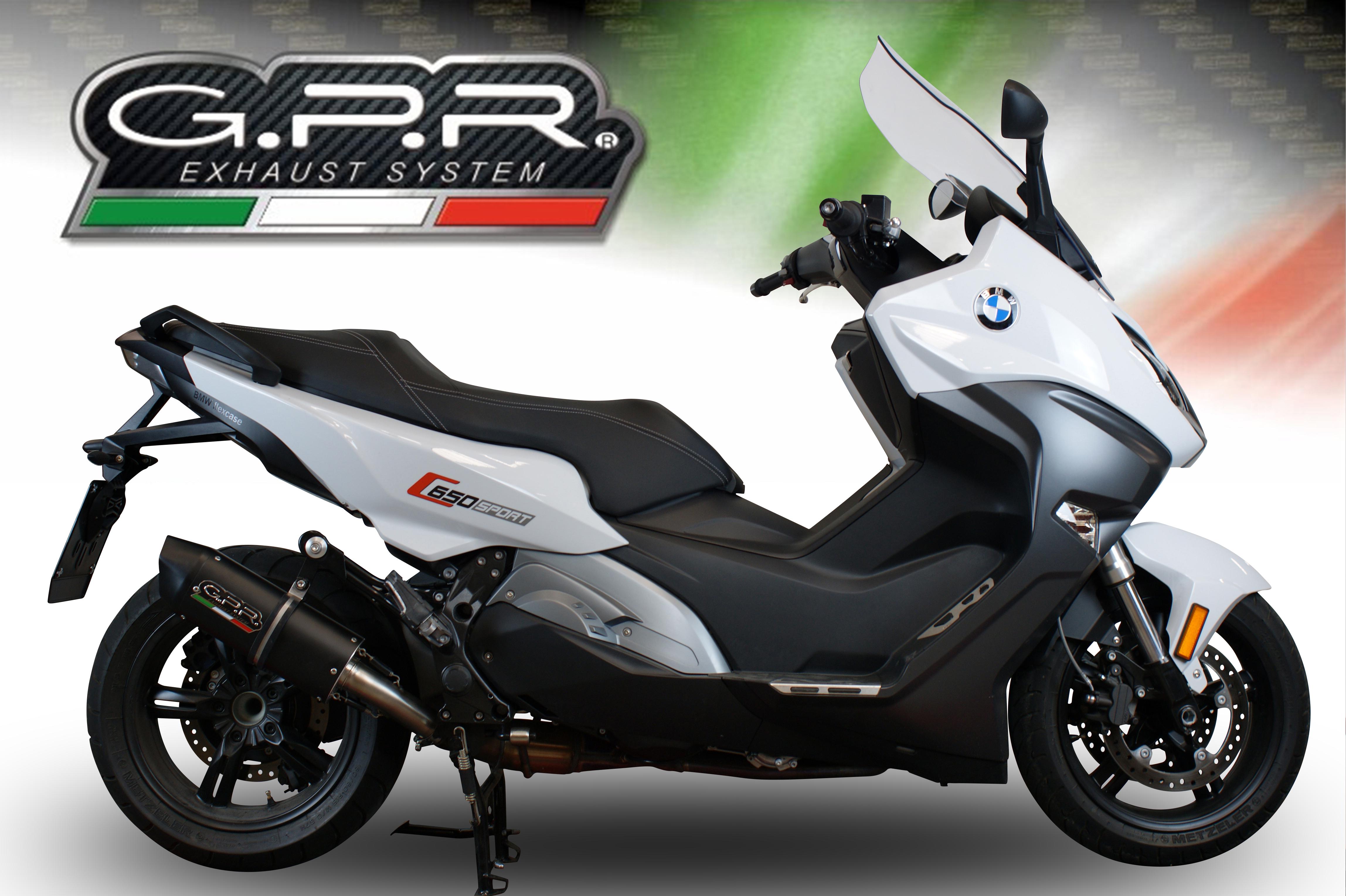 C 650 Sport 2016 18 Gpr Motorcycle Exhausts