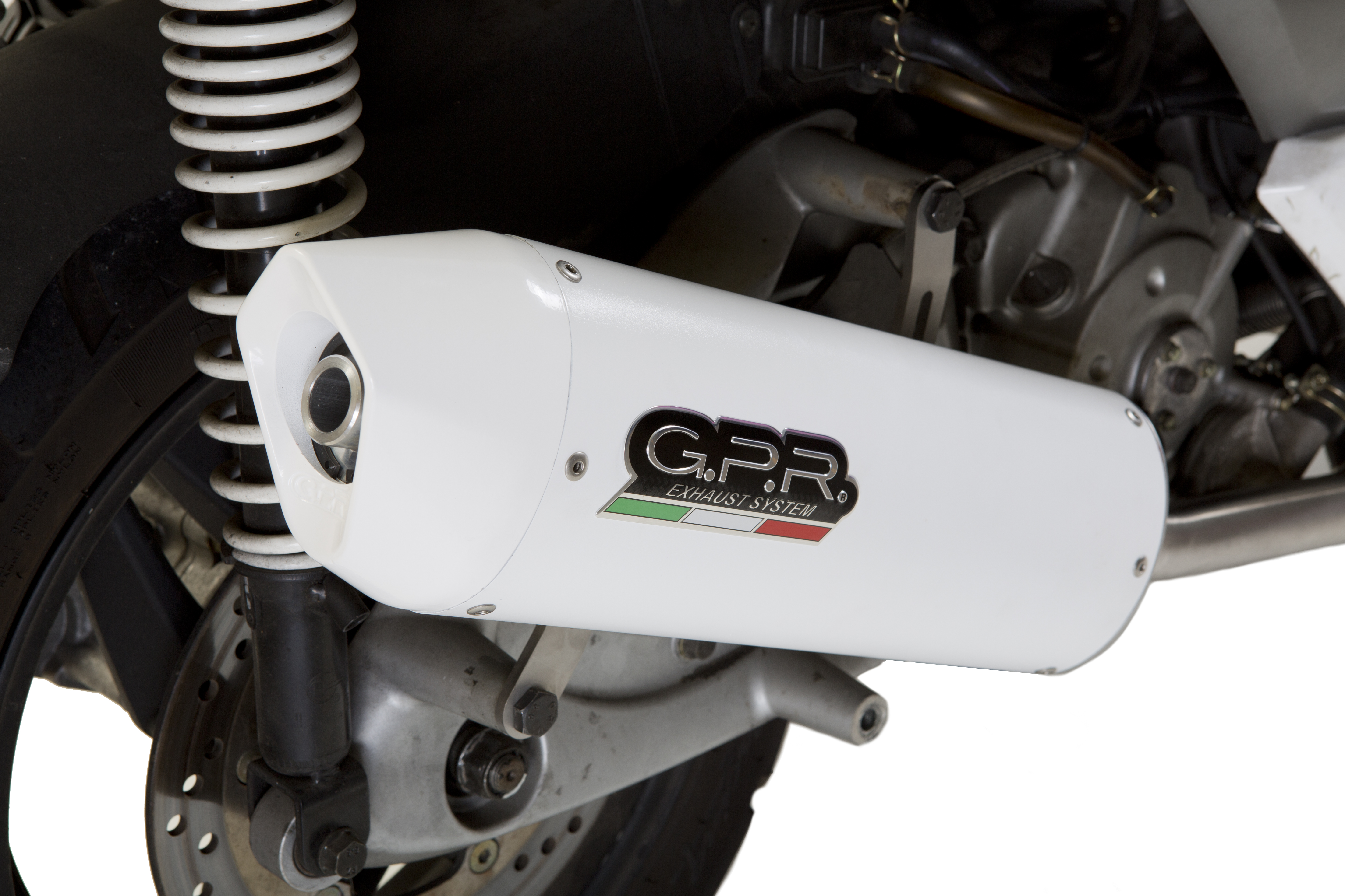 ESCAPE GPR EXHAUST SYSTEMS SC.CAT.18.1.ALB PIAGGIO BEVERLY 125 2