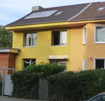 Haus mit Ecke