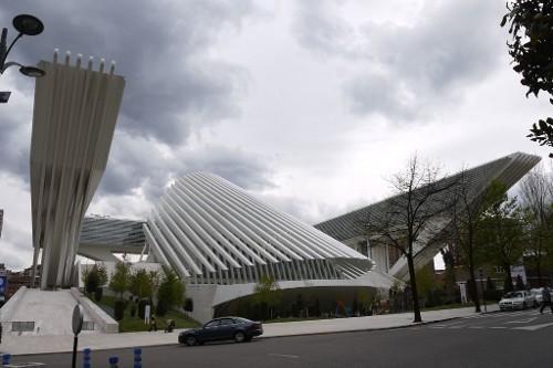 Architektur des Kongresszentrums