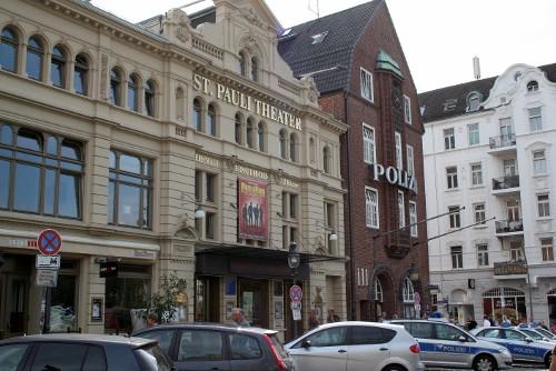Ausfahrt St. Pauli