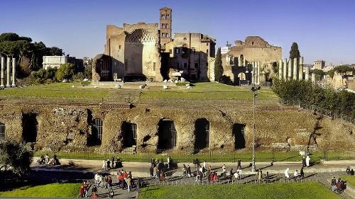 Der Tempel der Venus und der Roma