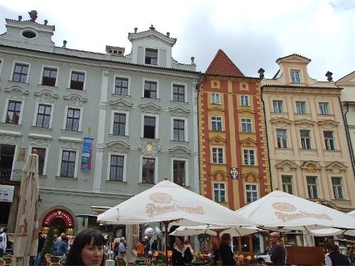 Малая площадь и Карлова улица