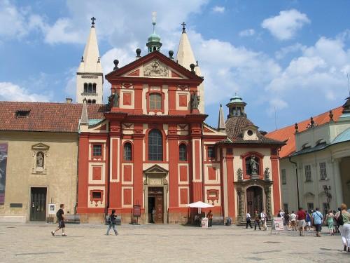 Костёл и монастырь святого Иржи