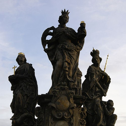 Святые Варвара, Маргарита и Елизавета. Мадонна, Святые Доминик и Фома Аквинский