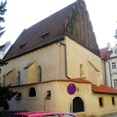 Старонова синагога. Пражская готика