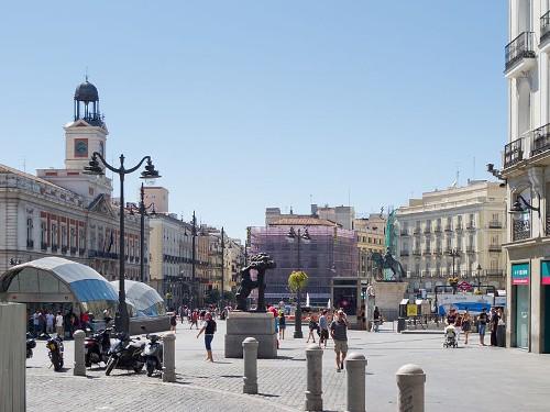 Площадь Пуэрта-дель-Соль
