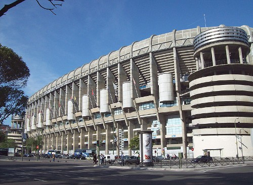 Стадион «Сантьяго Бернабеу»