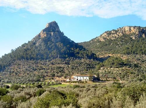 Das Küstgengebirge Serra de Tramuntana