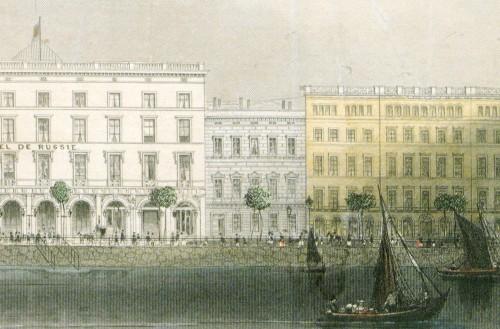 Bankhaus des Bankiers Salomon Heine