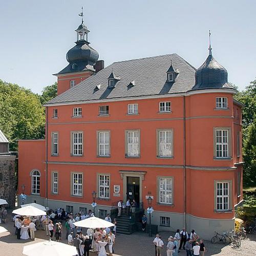 Burg Wissem und Touristen-Info