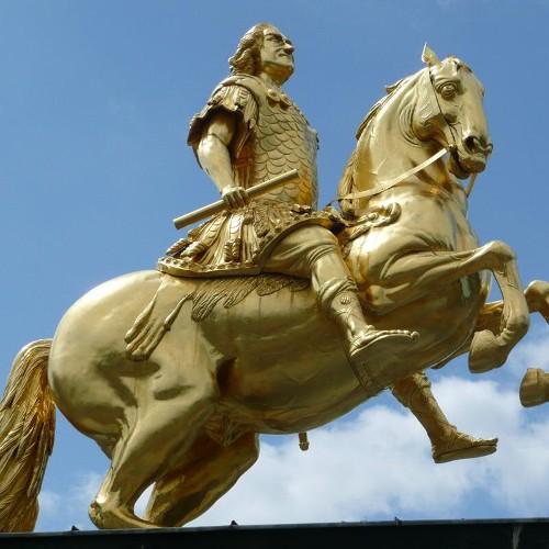 Goldener Reiter ( Golden Rider )