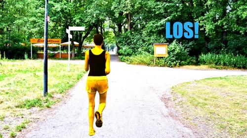 Start Joggingroute