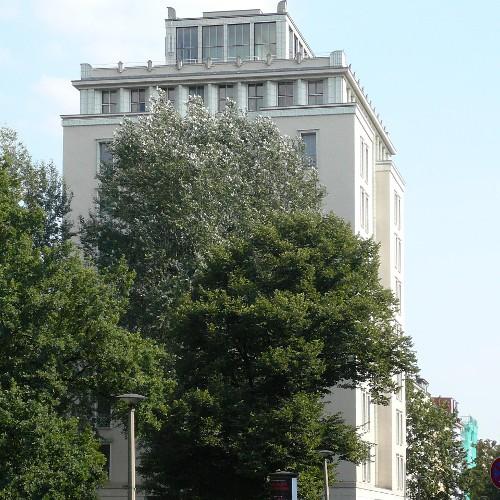 Hochhaus an der Weberwiese