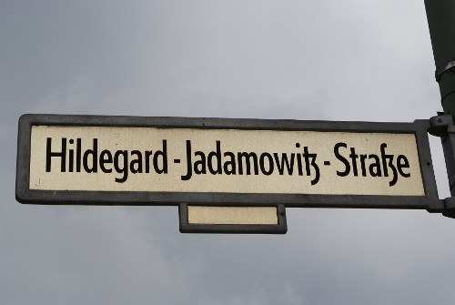 Hildegard-Jadamowitz Strasse - a small street for a big person