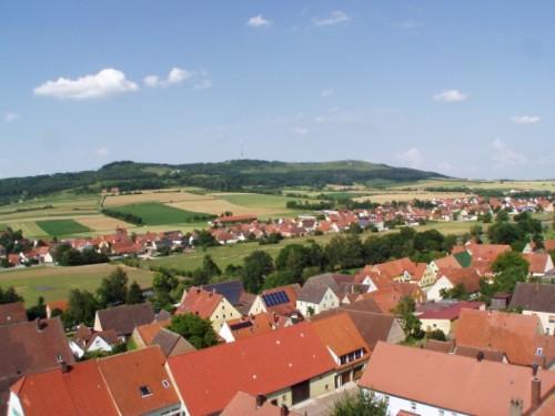 Hesselberg Blick