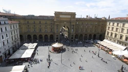 Start: Piazza de la Republica