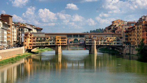 4: Ponte Vecchio (Alte Brücke)